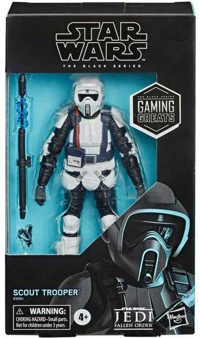 Star Wars Galaxy of Heroes Black Series Scout Trooper Exclusive Action Figure