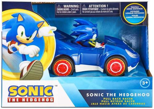 Sega All-Stars Racing Pullback Racers Sonic the Hedgehog Vehicle