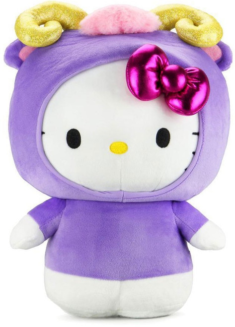 Cup Noodles Star Sign Series Hello Kitty 1.5-Inch Medium Plush [Aries] (Pre-Order ships April)
