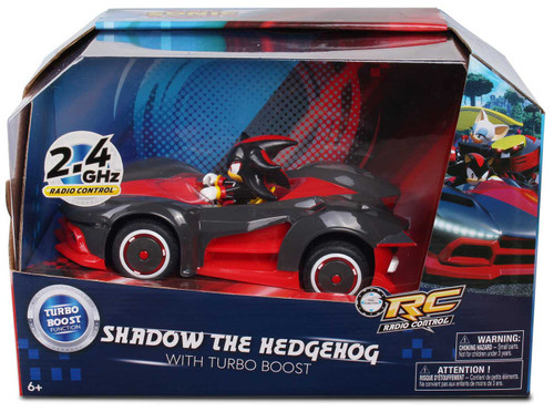 Sonic The Hedgehog Team Sonic Racing Shadow the Hedgehog R/C Vehicle