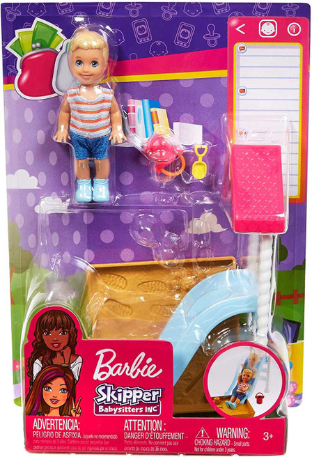 Barbie Skipper Babysitters Inc Friend Doll & Playground Mini Doll Playset