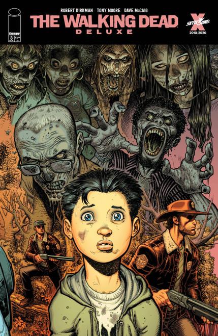Image Comics The Walking Dead Deluxe #3 Comic Book [Cover D Adams & McCaig]