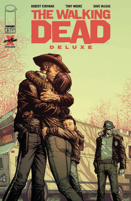 Image Comics The Walking Dead Deluxe #3 Comic Book [Cover A Finch & McCaig]