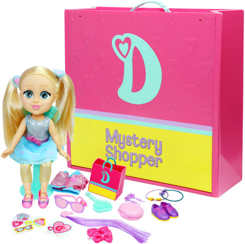 Love, Diana Mystery Shopper! 13-Inch Deluxe Doll & Playset
