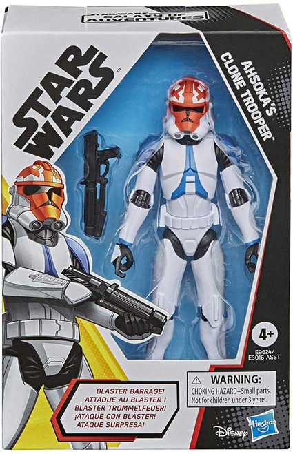Star Wars The Rise of Skywalker Galaxy of Adventures Ahsoka's Clone Trooper Action Figure (Pre-Order ships January)