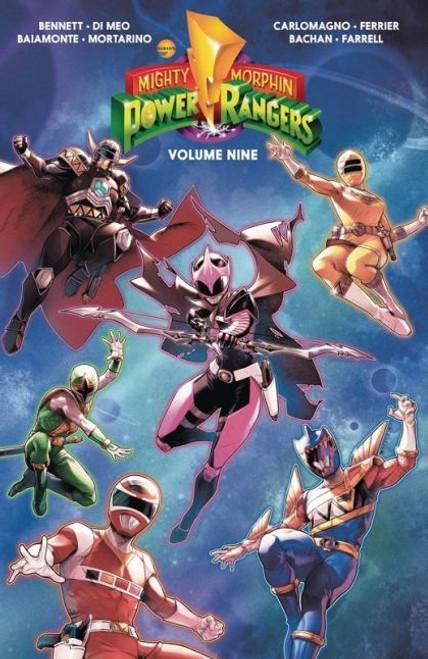 Boom! Studios Mighty Morphin Power Rangers Trade Paperback #9