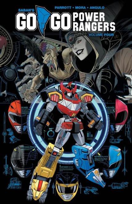 Boom! Studios Go Go Power Rangers Trade Paperback #4