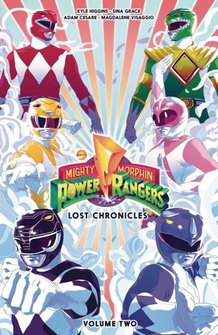 Boom! Studios Mighty Morphin Power Rangers Lost Chronicles Trade Paperback #2