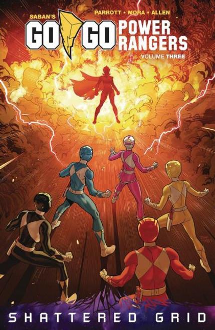 Boom! Studios Go Go Power Rangers Trade Paperback #3