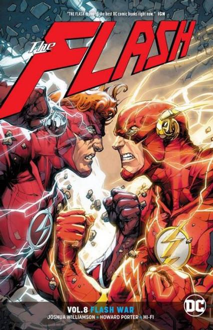 DC Comics Flash War Trade Paperback #8