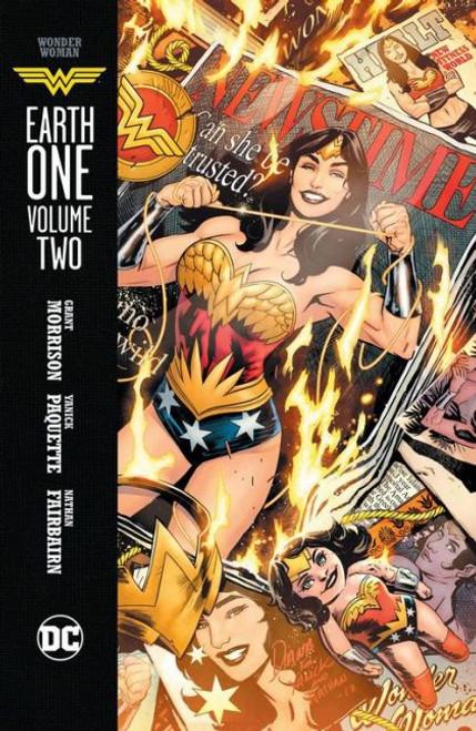 DC Comics Wonder Woman Earth One Hardcover #2