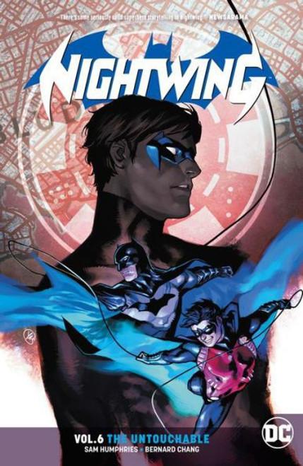 DC Comics Nightwing Untouchable Trade Paperback #6