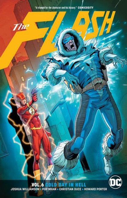 DC Comics Flash Cold Day in Hell Trade Paperback #6