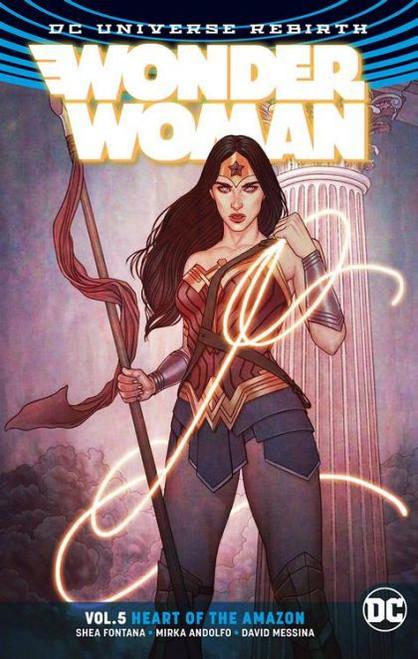 DC Comics Wonder Woman Heart of the Amazon Trade Paperback #5