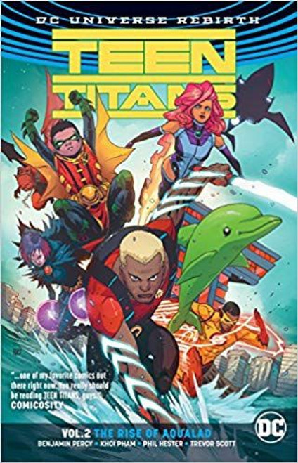 DC Comics Teen Titans Rise of Aqualad Trade Paperback #2