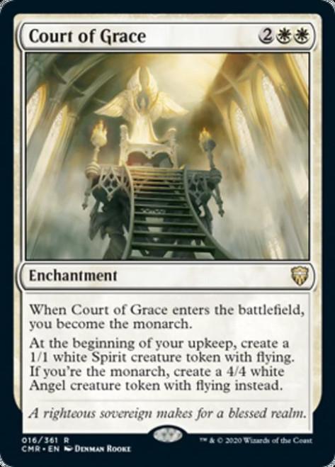 MtG Commander Legends Rare Foil Court of Grace #16