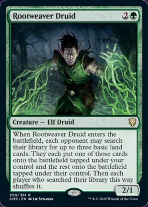 MtG Commander Legends Rare Foil Rootweaver Druid #250