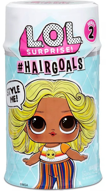 LOL Surprise Makeover #HairGoals Series 2 Mystery Capsule Pack