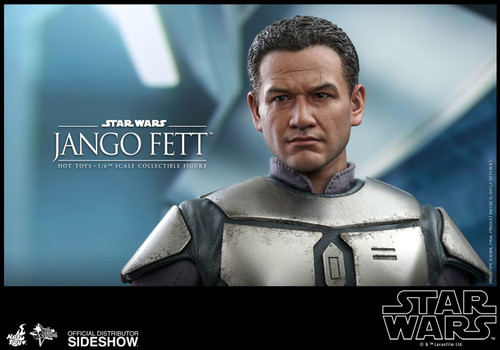 Star Wars Attack of the Clones Movie Masterpiece Jango Fett Collectible Figure (Pre-Order ships March 2022)