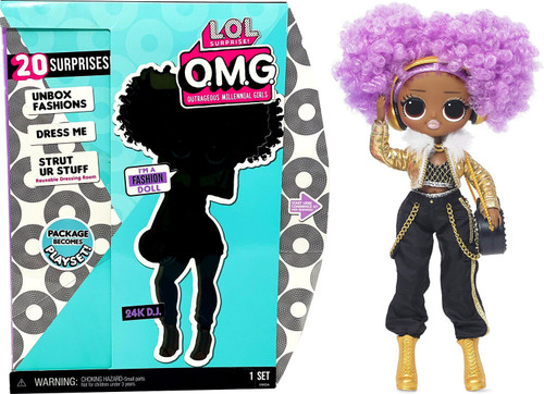 LOL Surprise OMG Series 2.8 24K D.J. Fashion Doll (Pre-Order ships January)