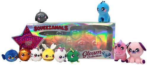 Squeezamals Gleam Collection Platinum Exclusive 3.5-Inch Plush