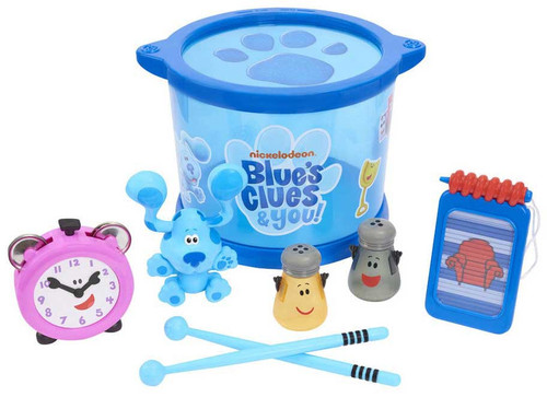Leapfrog Blue's Clues & You! Musical Drum Set
