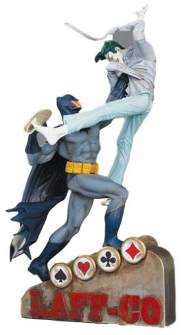 Classic Confrontations Batman Vs The Joker Statue