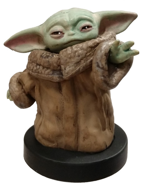 "Disney Star Wars The Mandalorian The Child aka ""Baby Yoda"" 1.25-Inch PVC Figure [Loose]"