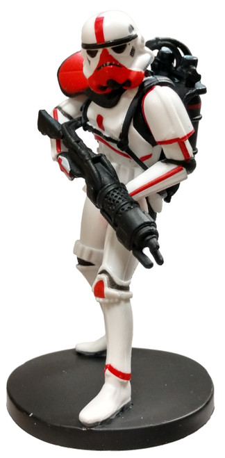 Disney Star Wars The Mandalorian Incinerator Stormtrooper 3.5-Inch PVC Figure [Loose]
