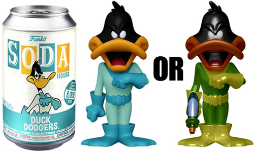 Funko Vinyl Soda Duck Dodgers Limited Edition of 8,000! Vinyl Figure [1 RANDOM Figure Look For The Chase!]