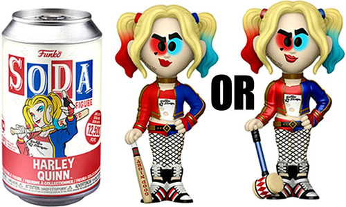 Funko Suicide Squad Vinyl Soda Harley Quinn Limited Edition of 12,500! Vinyl Figure [1 RANDOM Figure Look For The Chase!]