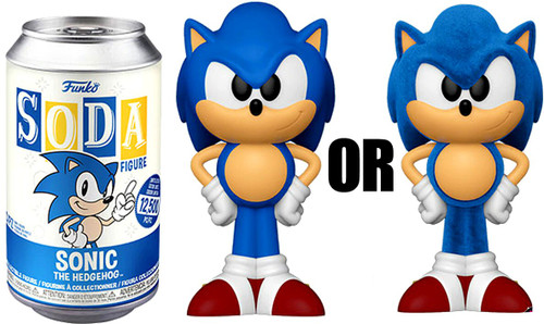 Funko Sonic The Hedgehog Vinyl Soda Sonic Limited Edition of 12,500! Vinyl Figure [1 RANDOM Figure, Look For The Chase!]