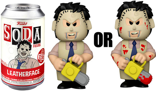 Funko Texas Chainsaw Massacre Vinyl Soda Leatherface Limited Edition of 12,500! Vinyl Figure [1 RANDOM Figure! Look For The Rare Chase!] (Pre-Order ships September)