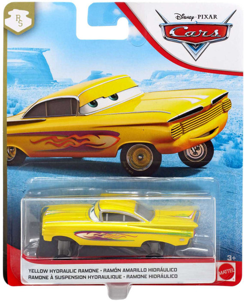Disney / Pixar Cars Cars 3 Radiator Springs Yellow Hydraulic Ramone Diecast Car