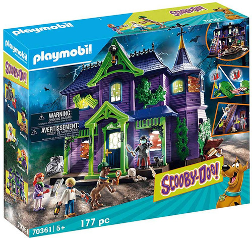 Playmobil Scooby-Doo! Adventure in the Mystery Mansion Set #70361