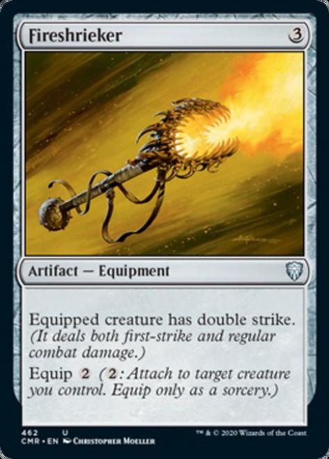 MtG Commander Legends Uncommon Fireshrieker #462 [Commander Deck]