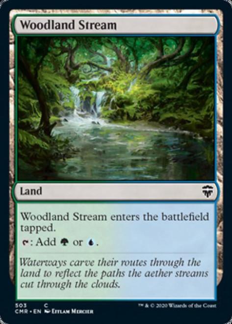 MtG Commander Legends Common Woodland Stream #503 [Commander Deck]
