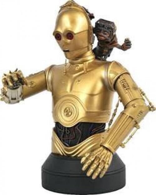 Star Wars Rise of Skywalker C-3PO & Babu Frik Bust (Pre-Order ships May)