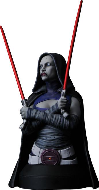 Star Wars The Clone Wars Asajj Ventress Bust (Pre-Order ships May)