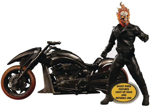 Marvel One:12 Collective Ghost Rider & Hell Cycle Action Figure (Pre-Order ships July)