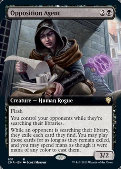 MtG Commander Legends Rare Opposition Agent #651 [Extended Art]