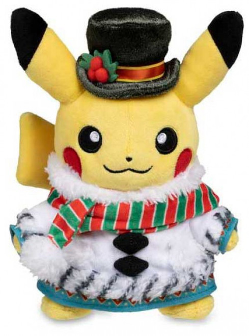 Pokemon Winter Carnival Pikachu Exclusive 7.75-Inch Plush