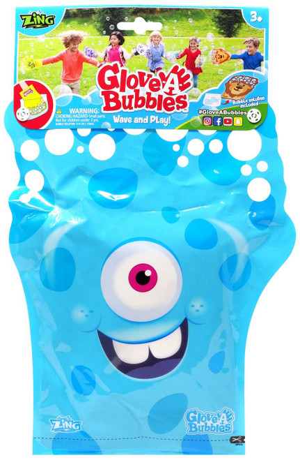Glove A Bubble Blue Monster