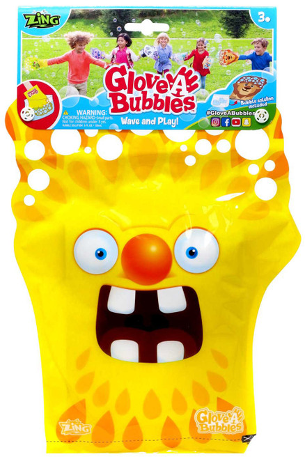 Glove A Bubble Yellow Monster