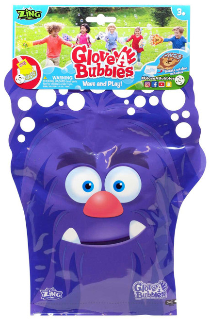 Glove A Bubble Purple Monster