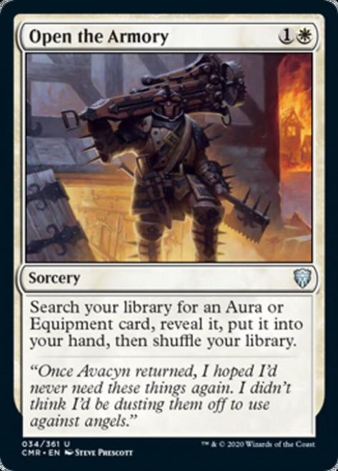 MtG Commander Legends Uncommon Open the Armory #34