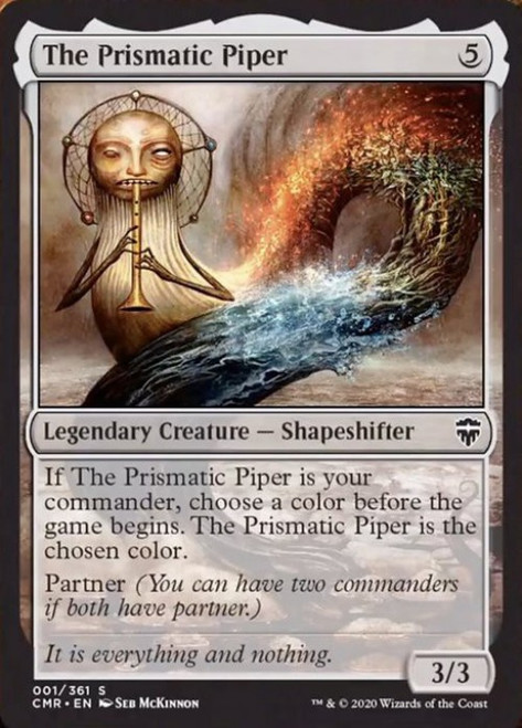 MtG Commander Legends Common The Prismatic Piper #1