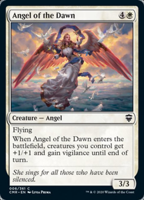 MtG Commander Legends Common Angel of the Dawn #6