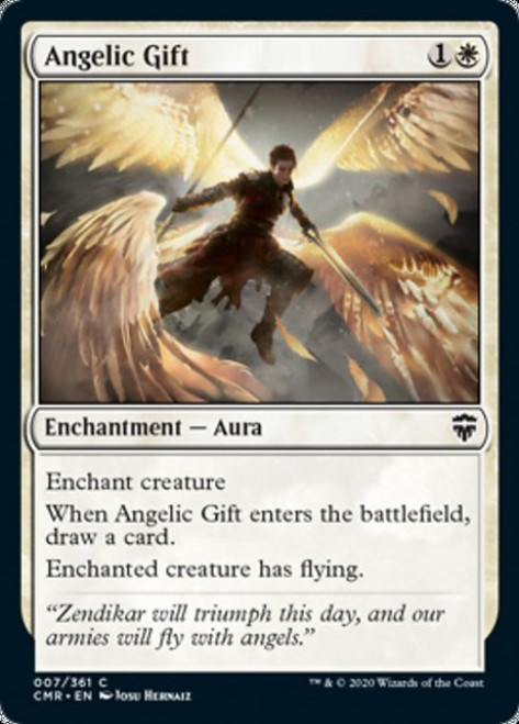 MtG Commander Legends Common Angelic Gift #7