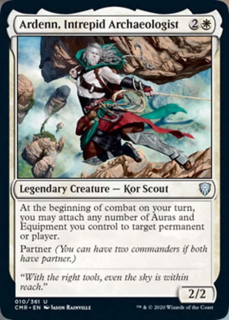 MtG Commander Legends Uncommon Ardenn, Intrepid Archaeologist #10